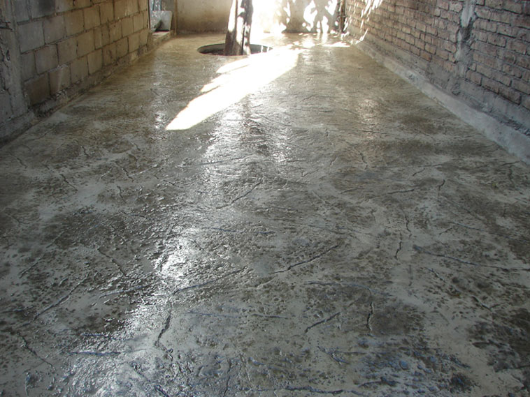 <p>Molde en concreto Stone Texture<br />Color: Marfil <br />Desmoldante: Olivo<br />Ejecución: Solidez<br />León, Gto.</p>